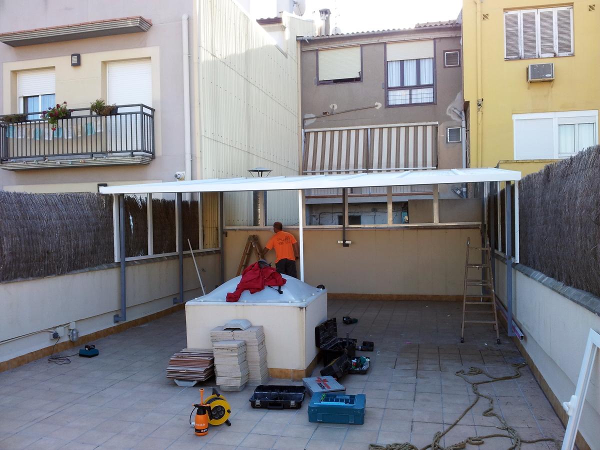 Caseta de aluminio ideas carpinter a aluminio - Casetas de madera para terraza ...