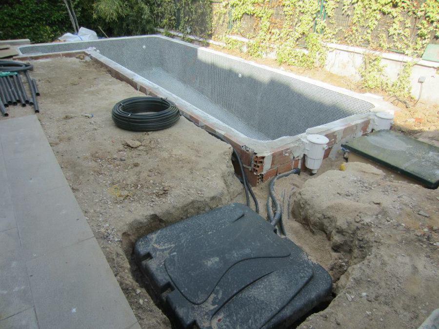Casetas de depuración enterradas