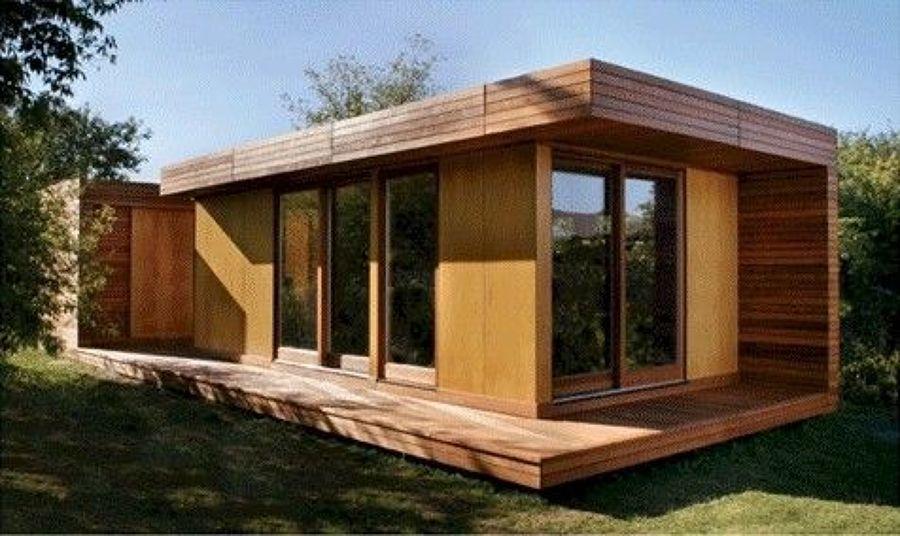 Techos p rgolas casetas casas de madera ideas - Prefabricados de madera ...