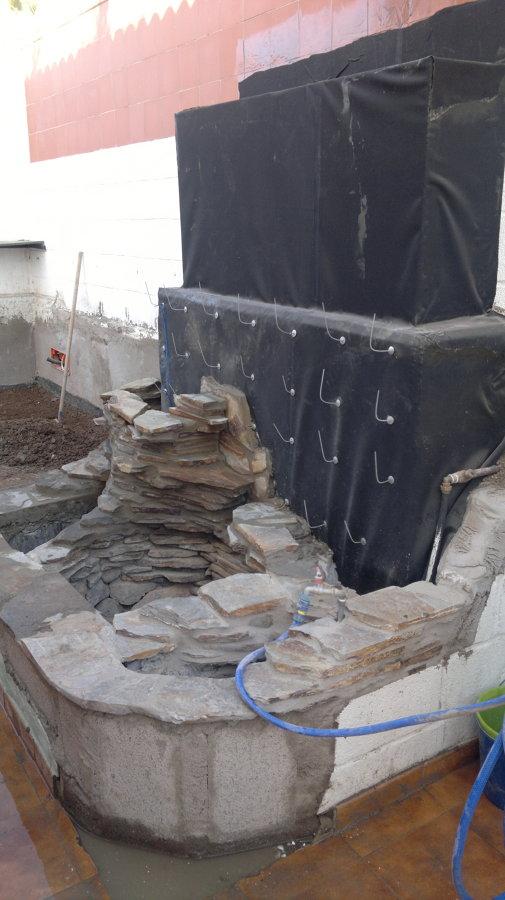 Catarata en Construcción