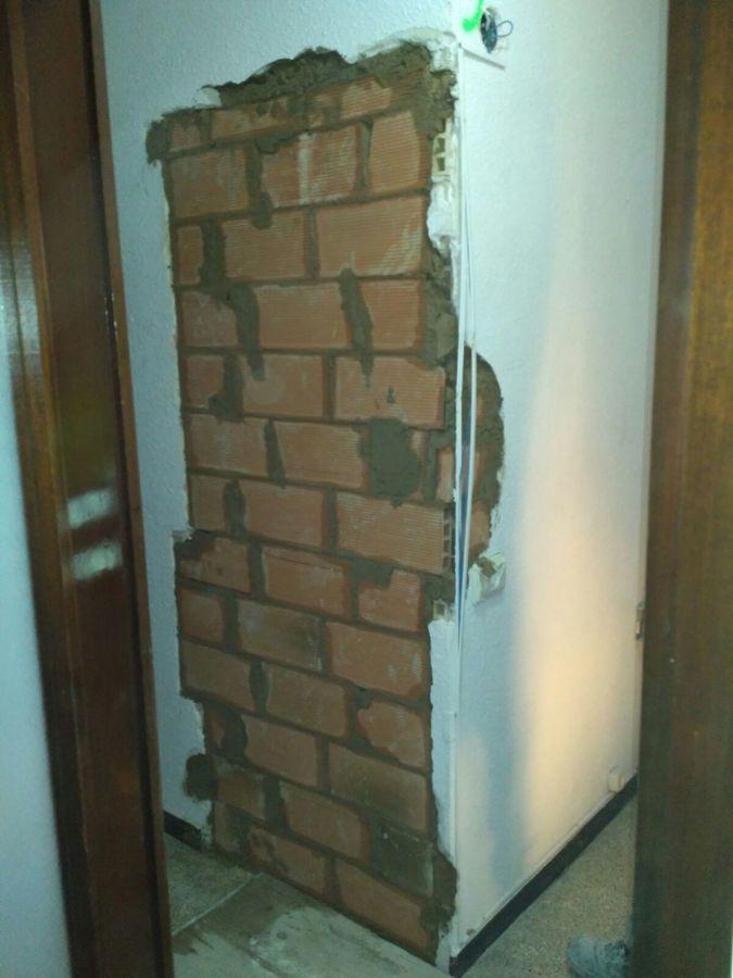 Cegado puerta cocina