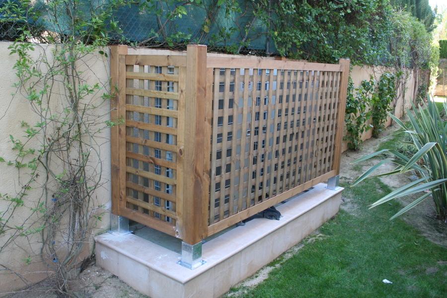 Celos as de madera ideas carpinteros - Celosia de madera para jardin ...