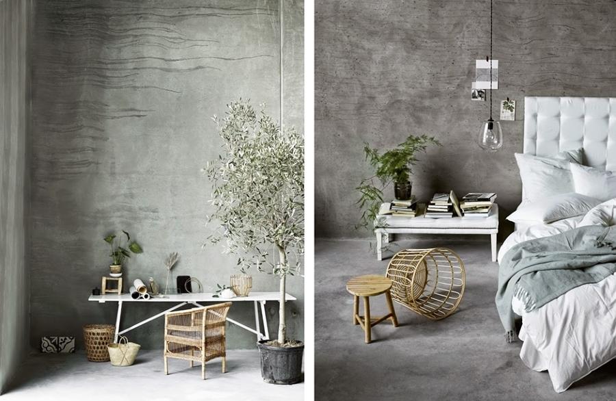 Suelos de cemento para casas con personalidad ideas - Cemento decorativo para paredes ...