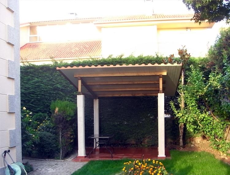 Construcci n de cenador para jardin ideas reformas viviendas for Cenador para jardin