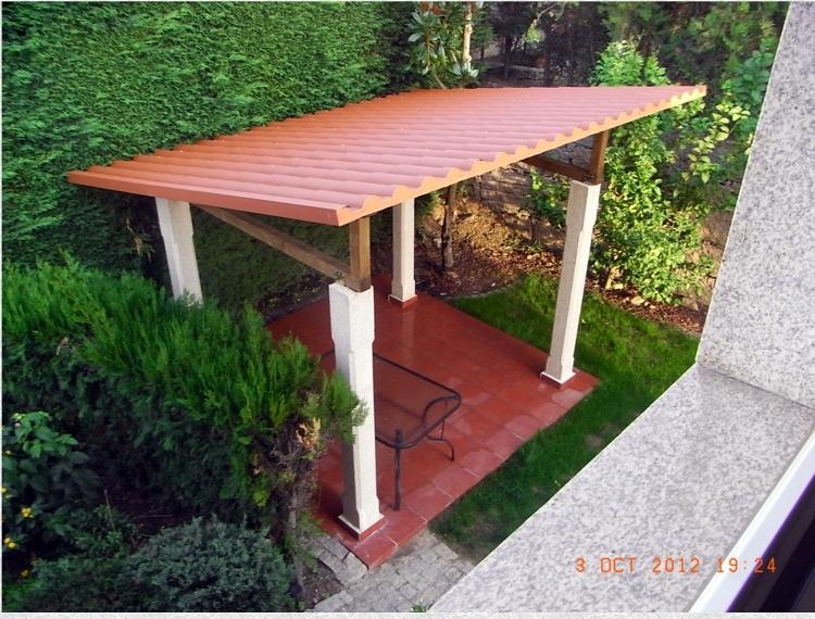 Construcci n de cenador para jardin proyectos reformas for Cenador para jardin