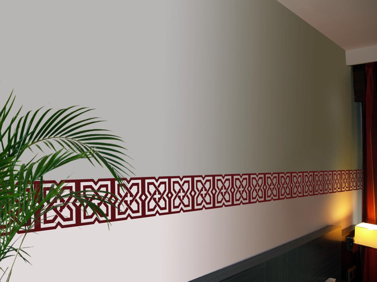 Cenefas decorativas ideas reformas viviendas - Vinilo para la pared ...