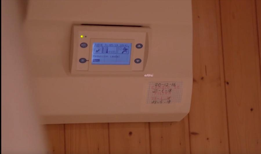 Central de Tratamiento de Aire que se instaló en casa de la clienta