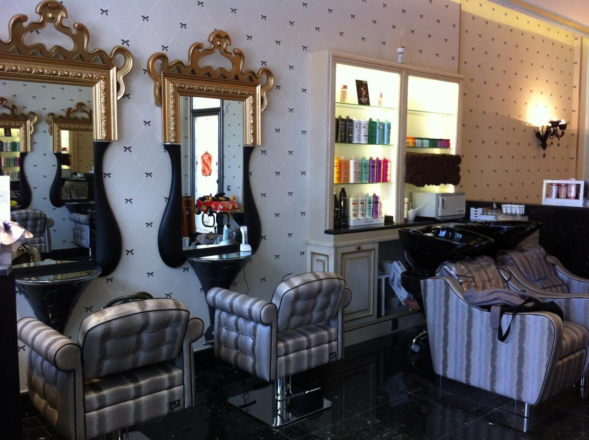 Salones de belleza decoracion for Salones estilo vintage