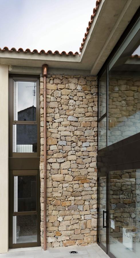 Centro de Interpretación de Canteras de piedra molinera. Trevago (Soria)