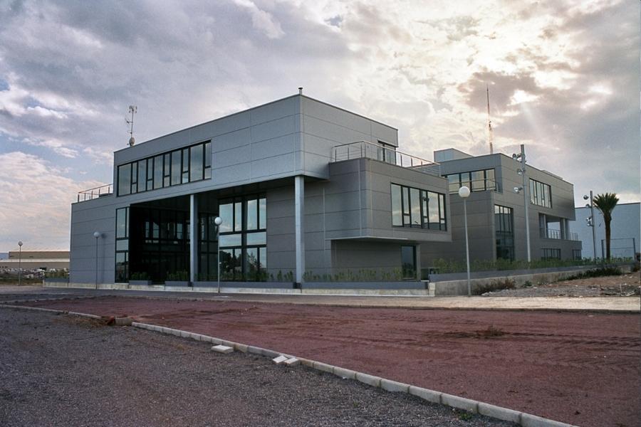 Centro de negocios Almazora, vista posterior