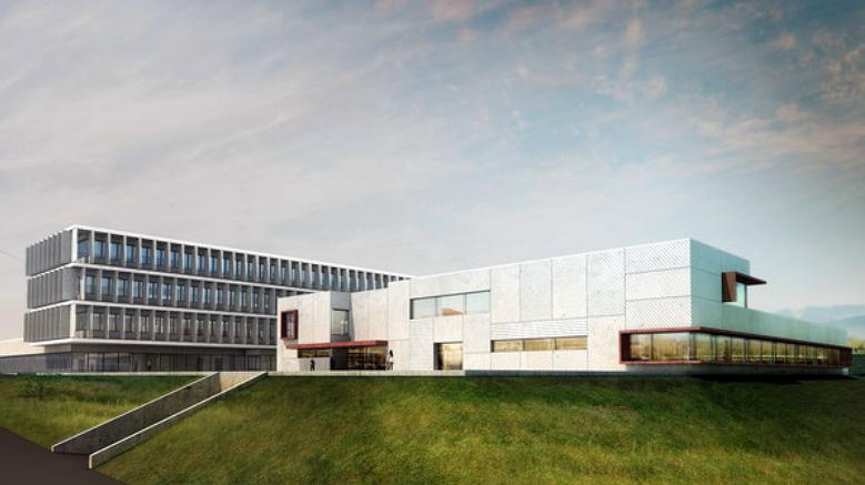 Centro de salud Prosperidad. Vista general