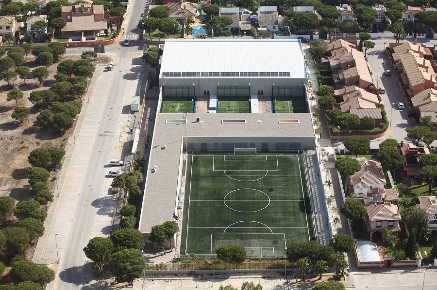 Centro Deportivo Santi Petri. Chiclana de la Frontera. Cádiz