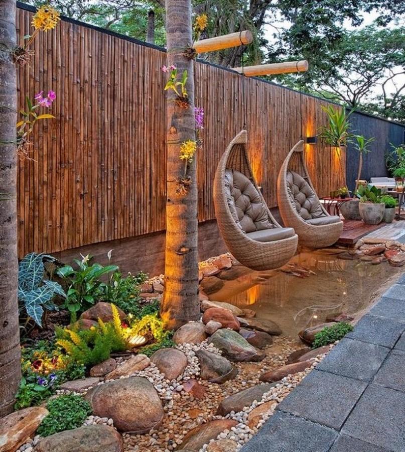 Cerco bambú