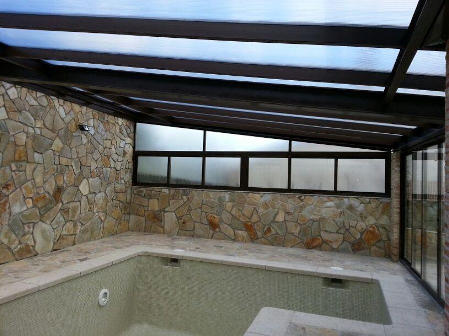 Foto cerramiento con aluminio para piscina de cerranavas - Cerramiento para piscinas ...