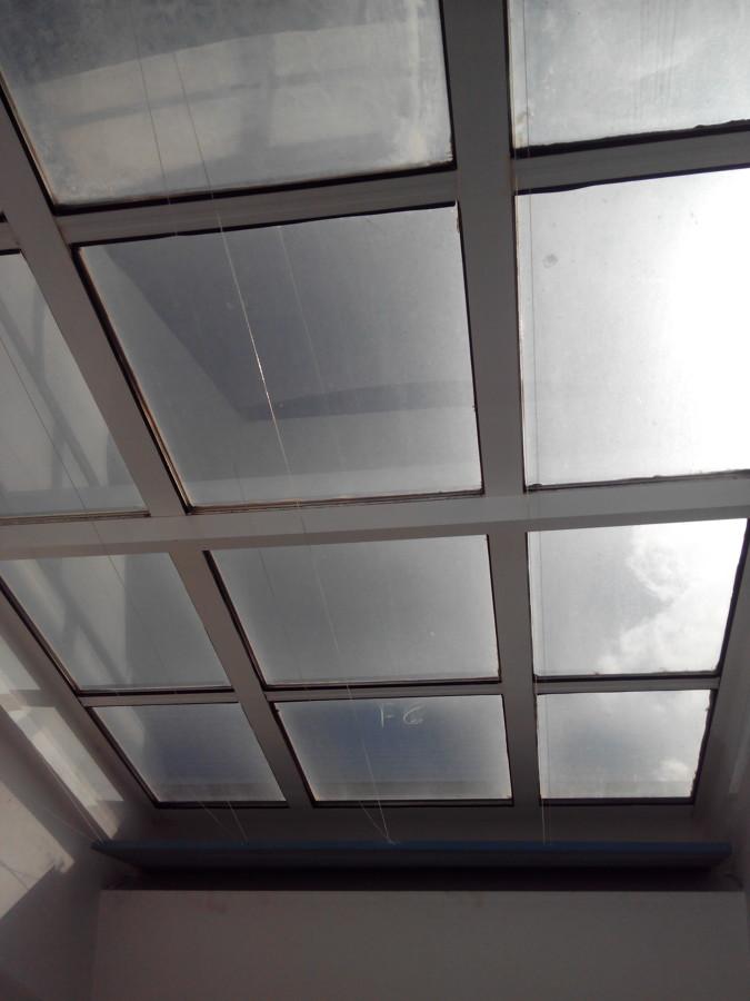 cerramiento con fijos no aptos para tejado