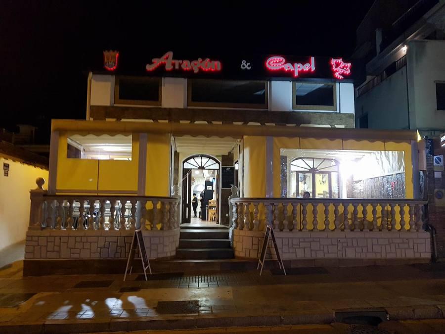 cerramiento con toldos para terraza Restaurante