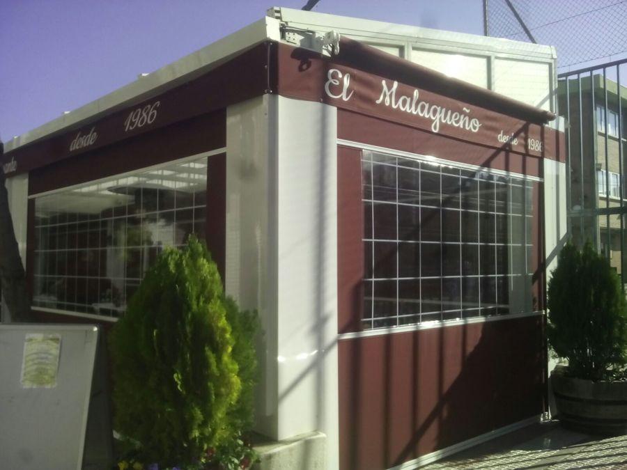 Cerramiento de hosteleria en Torrejón de Ardoz