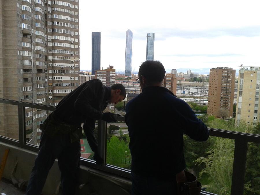 Cerramiento de Terraza en Madrid.
