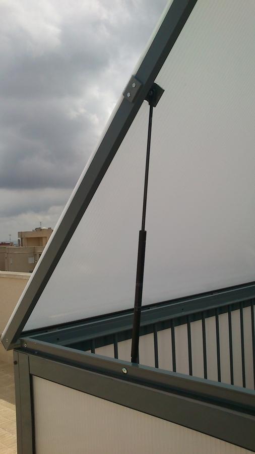 Cerramiento aluminio terraza y escalera ideas - Cerramientos de escaleras ...