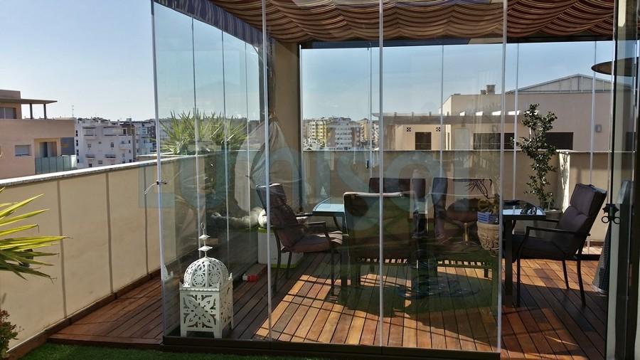 cerramientos de terraza balcon porhe atico locales On cerramientos de cristal sin perfiles