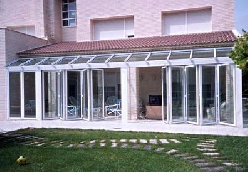 Cerramiento ideas reformas viviendas for Puertas de terraza de aluminio