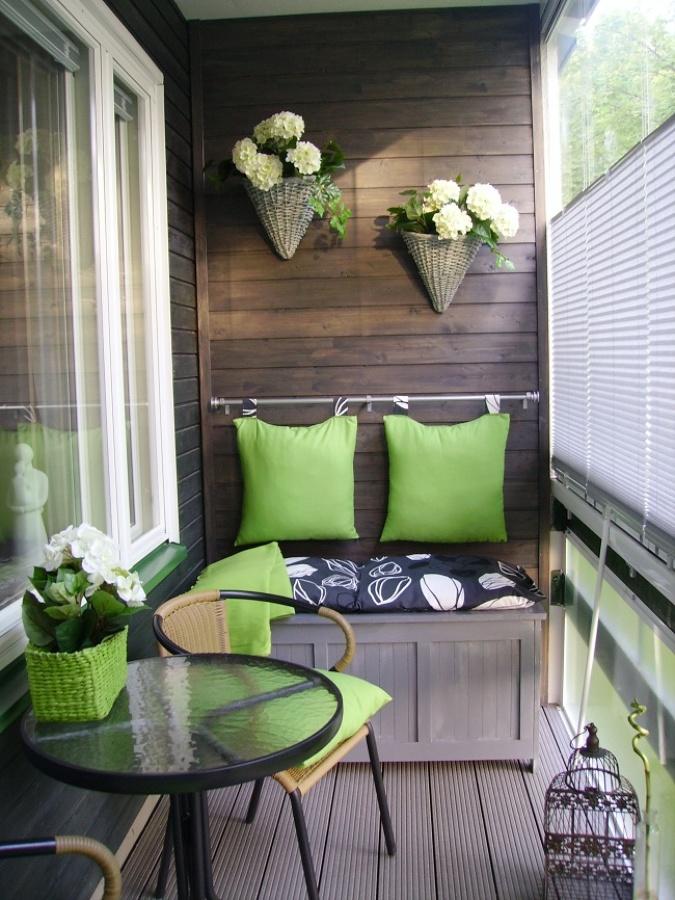 C mo proteger tu balc n de las miradas ideas decoradores - Cerrar balcon ...
