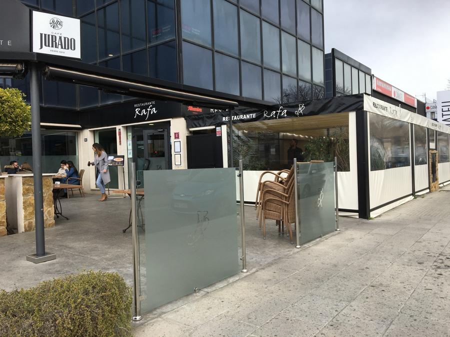 Cerramientos de Terraza de Bar