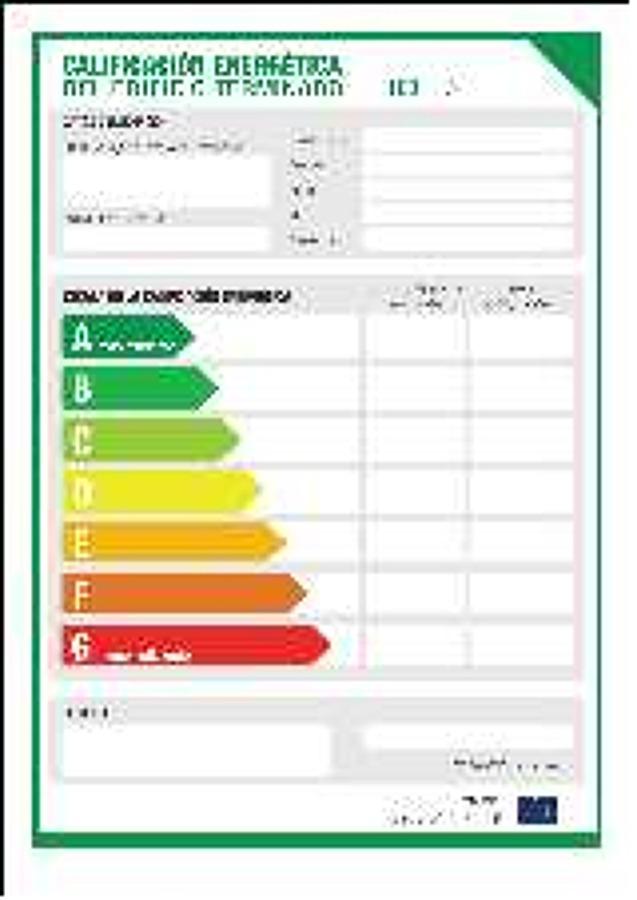 Certificaci n energ tica y c dulas de habitabilidad for Cedula de habitabilidad precio