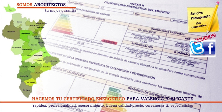 certificados en valencia proyectos arquitectos