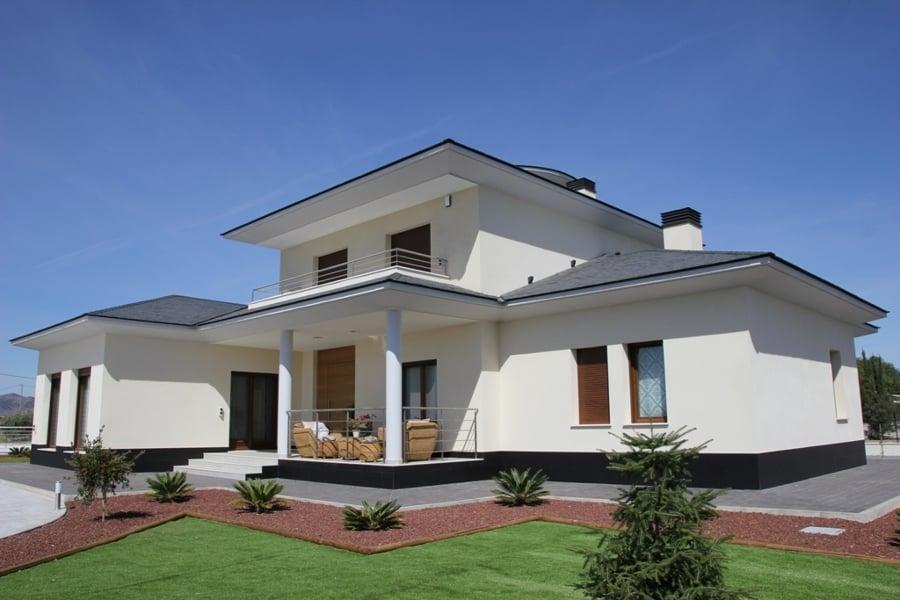 Chalet 300 m2 ideas construcci n casas for Fachadas de chalets modernos