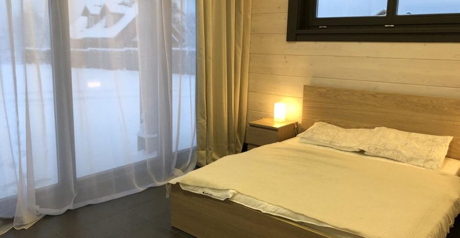 Chalet de madera - Dormitorio