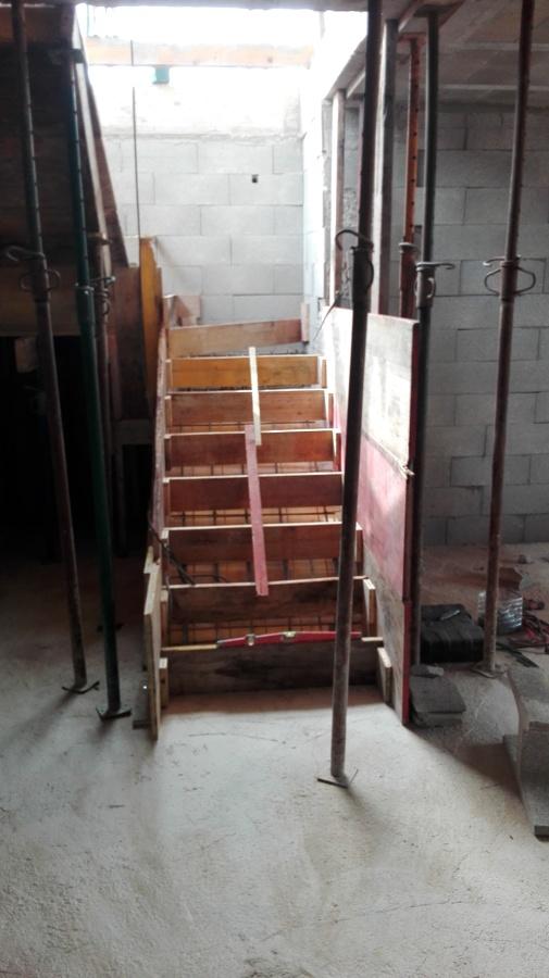 Chalet, escaleras