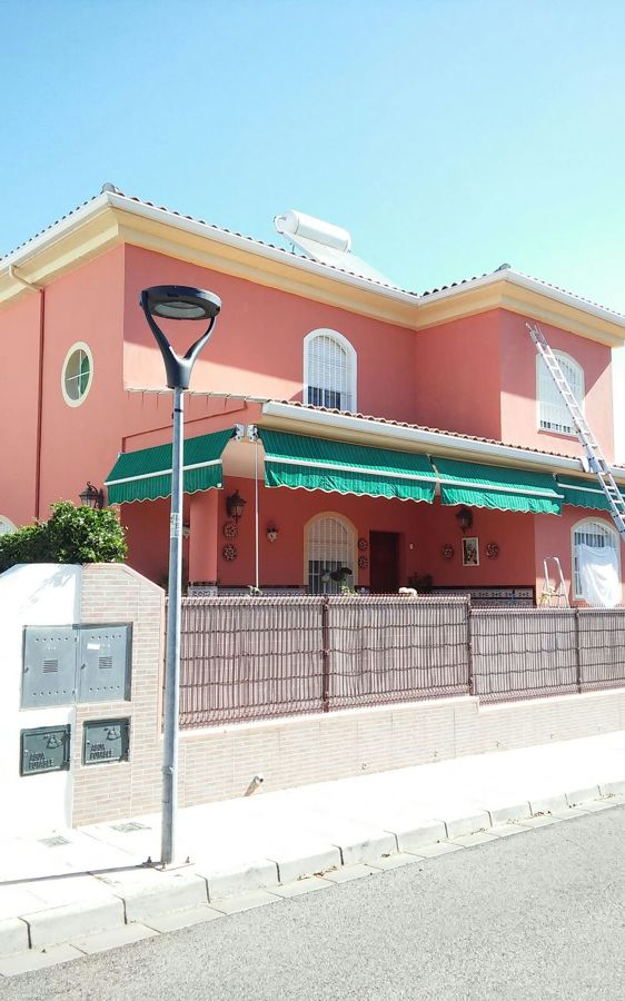 Pintura exterior vivienda chalet ideas pintores - Pintores de viviendas ...