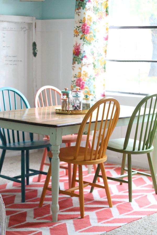 Chalk Paint en sillas