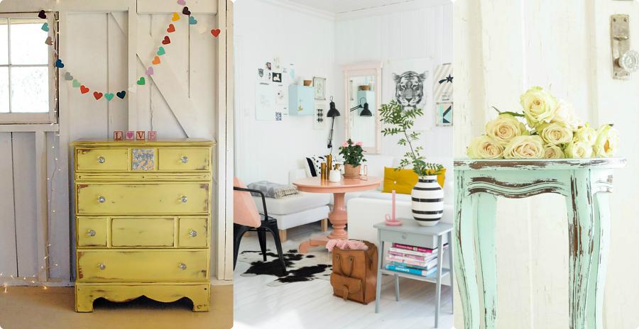 Renueva tus muebles con chalk paint ideas decoradores for Mueble castellano restaurado
