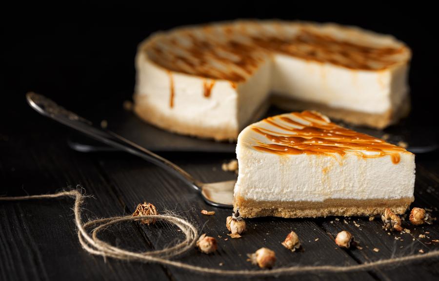 cheesecake con caramelo