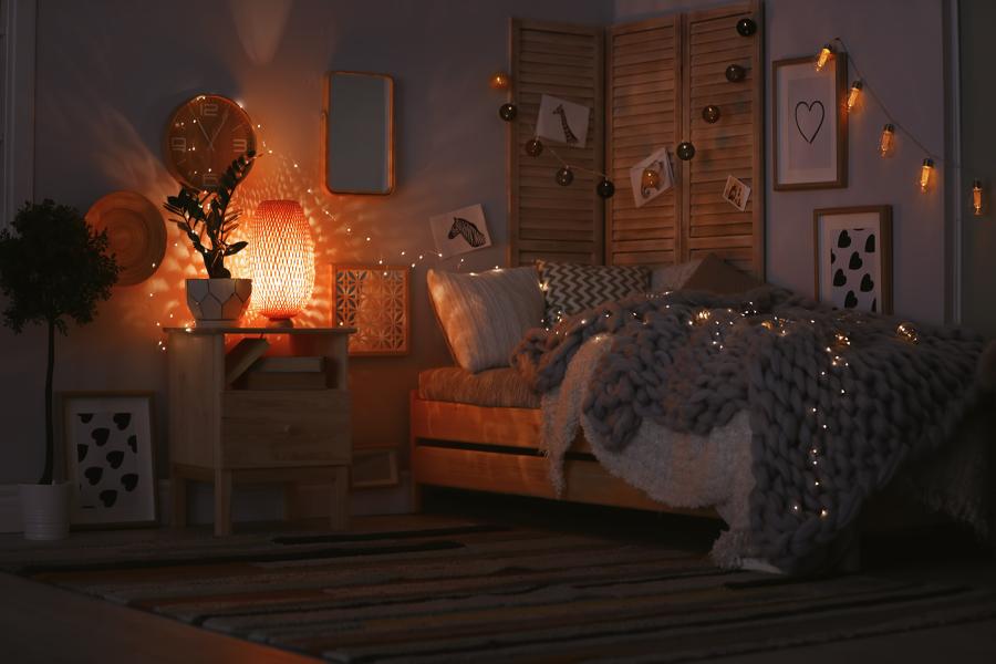 dormitorio tipo chill out interior