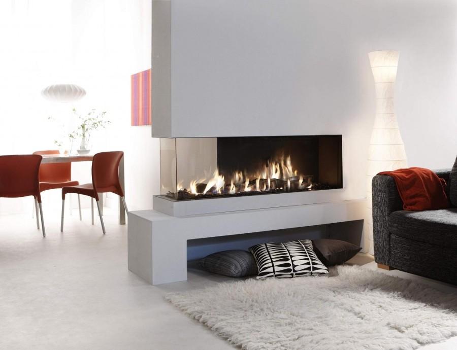 Todo lo que debes saber sobre las chimeneas de le a ideas calefacci n - Puertas de vidrio para chimeneas ...