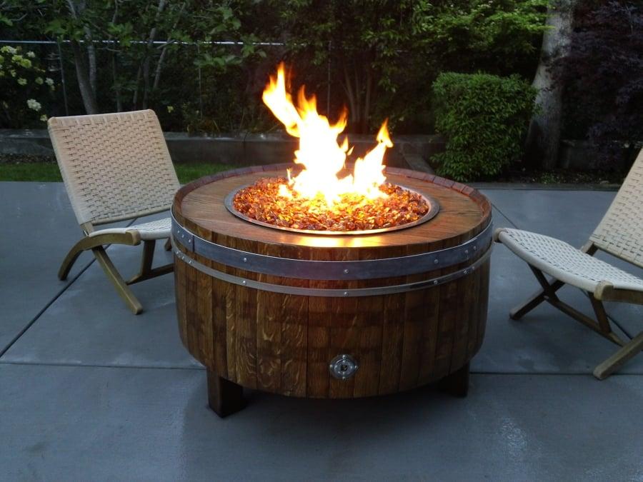 Decora con barriles de vino y dale a tu hogar un toque - Barril de vino ...