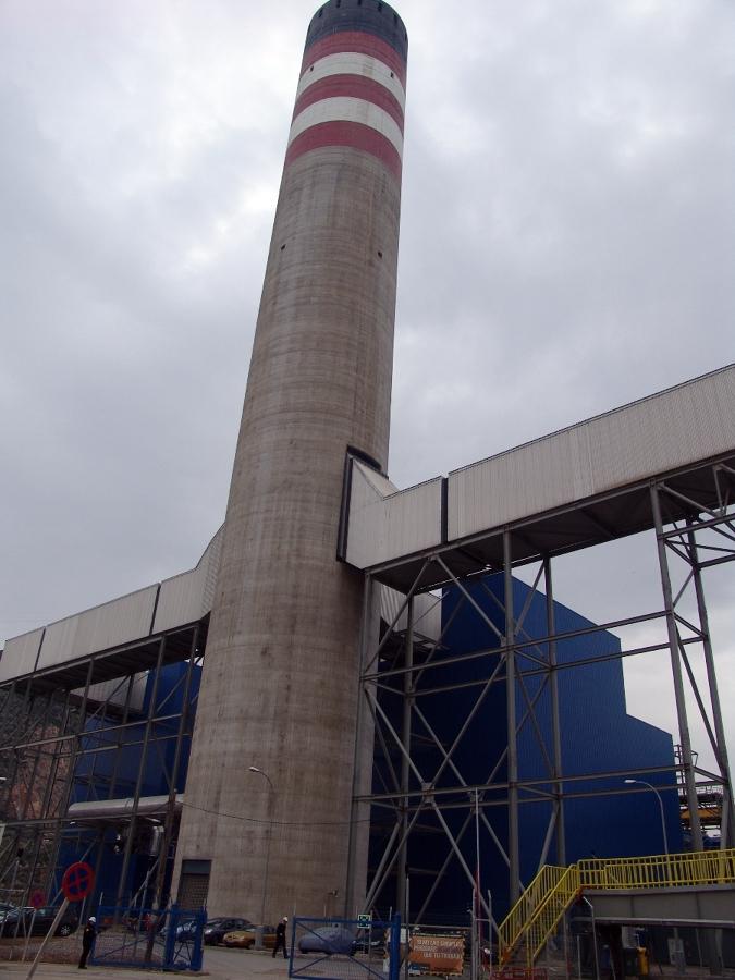 Proyecto c10 cartagena ideas obra civil - Estructuras de chimeneas ...