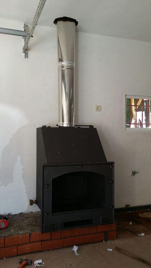 Foto chimenea de le a insertable para la calefacci n por agua de calidax fireplaces 961130 - Calefaccion con chimenea de lena ...