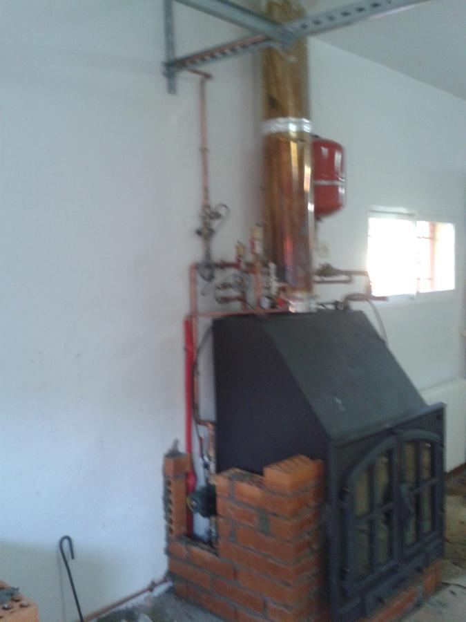 chimeneas de le a para calefaccion airea condicionado On calderas de lena para radiadores de agua