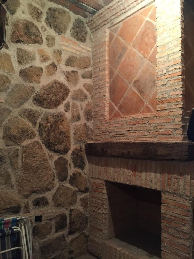 Obras realizadas ideas reformas viviendas for Chimeneas de obra