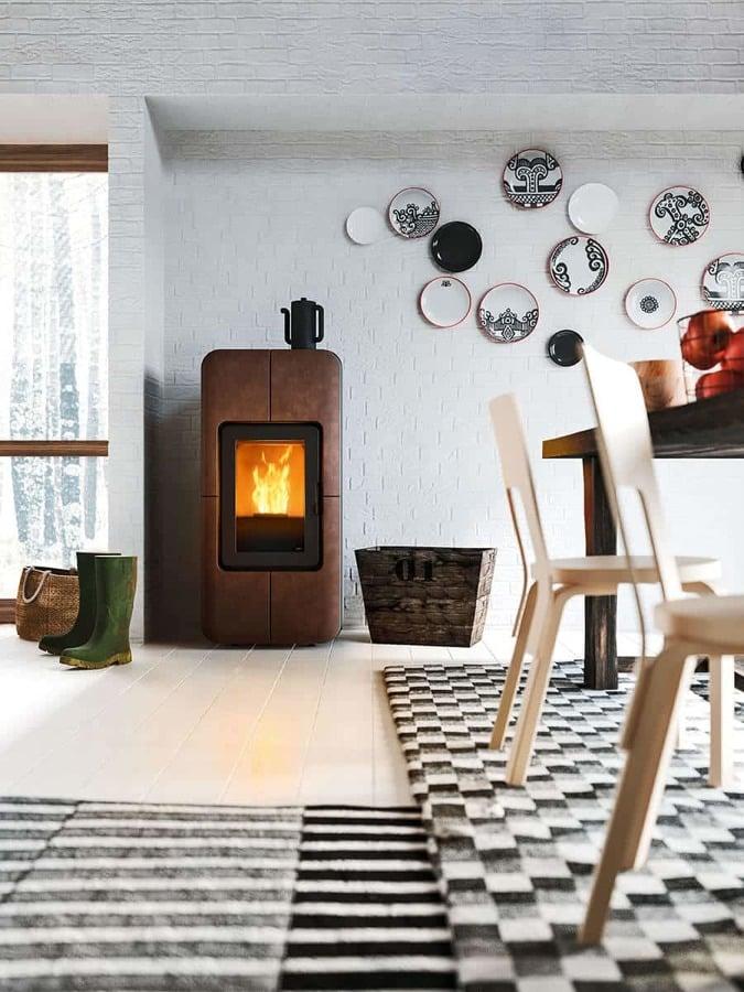 5 ideas para introducir una chimenea en tu piso ideas - Poner chimenea en un piso ...