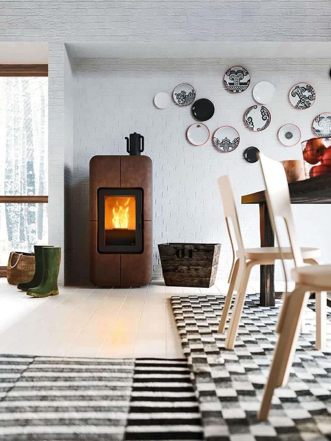 5 ideas para introducir una chimenea en tu piso ideas - Chimeneas para pisos ...