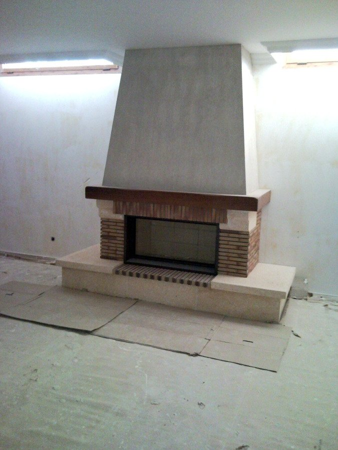 Foto chimenea r stica de chimeneas f nix 134827 - Chimeneas de ladrillo refractario ...