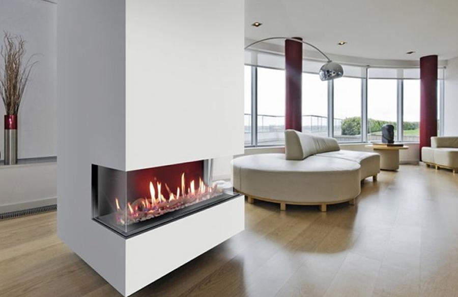 Tendencias en chimeneas para el invierno ideas chimeneas - Chimeneas para pisos ...