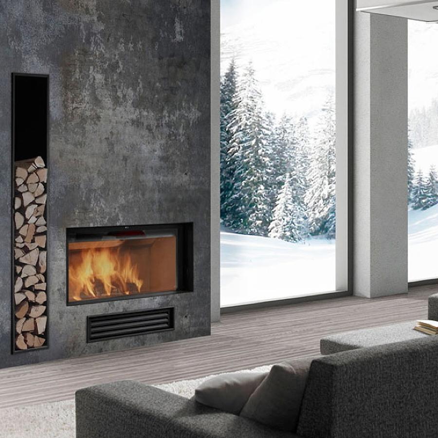 Tendencias en chimeneas para el invierno ideas chimeneas - Ideas para chimeneas ...