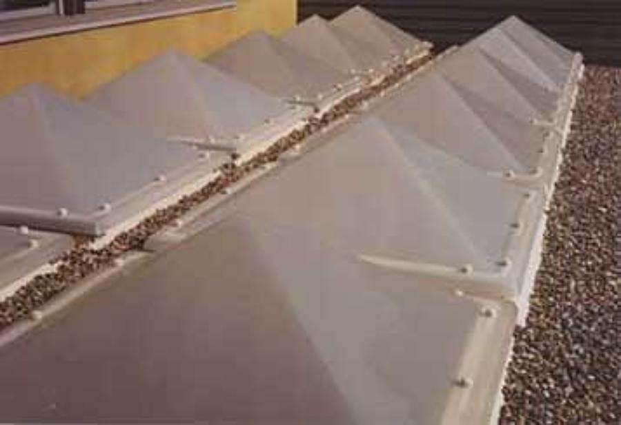 Claraboyas piramidales