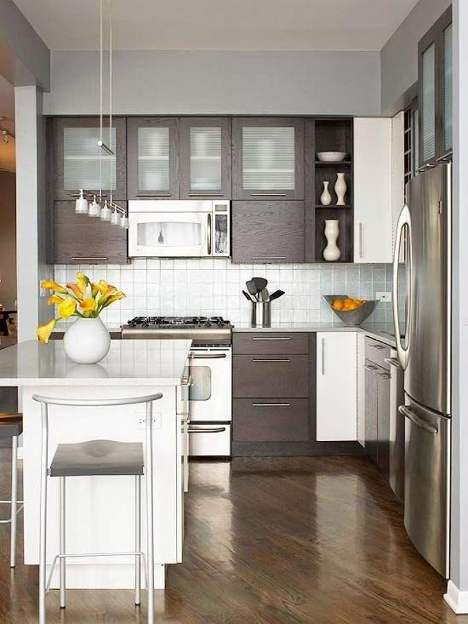 Classic open kitchen